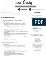 resume 1 page with info blocked