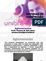 Aglomerantes UNIBH Apostila Engenharia Civil