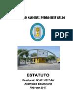 Nuevo Estatuto-unprg -Febrero 2017