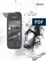 Cricket Rio User Guide En