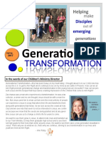 Newsletter Spring 2017 - Generational Transformation