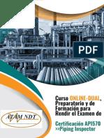 Curso Online Dual de Formación Para Inspector API 570 REV 2 20Enero NDT-1