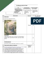 Actividad de Aprendizaje La Resurreccic3b3n de Jesc3bas