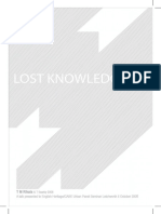 LOST KNOWLEDGE PAPER PRESENTED TO EH.pdf