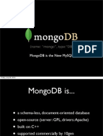 MongoDB is the New MySQL