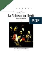 La Noblesse en Liberte - Jean-Marie Constant