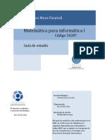 50287 Matematicas Para Informatica
