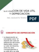 Vida Util Y depreciacion