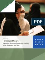 Human Rights in Saudi Report