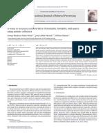 A Study of Flotation Characteristics of Monazite, Hematite, And Quartz