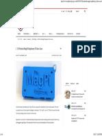 3D Printed MagPi Raspberry Pi Zero Case