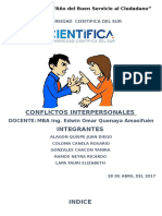 conflitos interpersonales