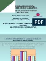 (III) Areas de Autoconcepto e Inteligencia (Pma, Igf-m) 2006