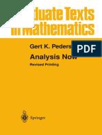 Analysis Now. G. K. Pedersen