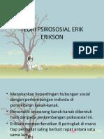 Teori Psikososial Erik Erikson