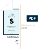 glass castle curriculum unit final