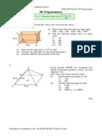 GCSE H3 02g4 02 3D Trigonometry