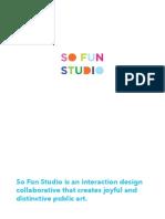 So Fun Studio_please Touch