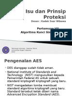 Pertemuan 6 AES