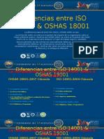 Diferencias Entre ISO 14001 & OSHAS 18001
