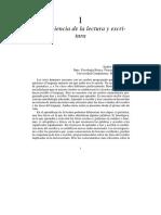 Neurociencia de La Lectura y Escritura. Emilio García