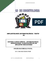 C-.IMPLANTOLOGÍA ESTOMATOLÓGICA clasificacion de los im.doc