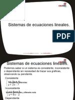 Sistema Ecuaciones Lineales2017