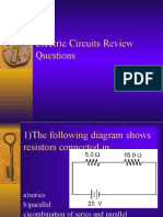 electric circuits review