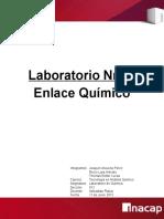 Lab 9, Enlace Quimico