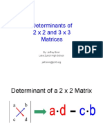 Determinants matriks 3x3 metode sarrus