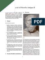 109 - Historia de La Filosofía Antigua II