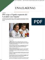 29-04-17 PRI Exige a Fepade Respuesta Del 'Lavadero Con Tarjetas' - Grupo Milenio
