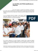 29-05-17 Las y Los 62 Senadores Del PRI y Del PVEM Manifiestan Su Respaldo a Miguel Riquelme