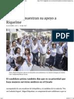 30-04-17 Senadores Muestran Su Apoyo a Riquelme - Vanguardia