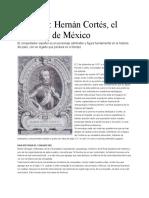 Hernan Cortez El Fundador de Mexico