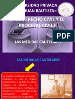 Las Medidas Cautelares1