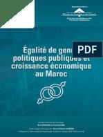 Livre - Egalité Des Genre Croissance Économique