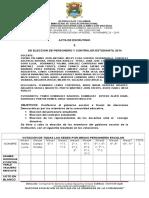 Acta de Ecrutinio2014