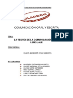 Comunicacion Oral y Escrita