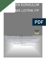 Dokumen Kurikulum d3 Teknik Listrik Itp v20016