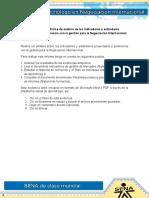 Evidencia 4 Informe de Analisis de Los Indicadores y Estandares Proyectados y Pertinencia