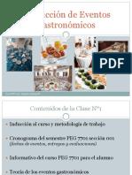 Produccion de Eventos Gastronomicos 7701 Clase n 1