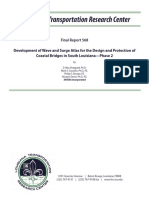 FR_568 Development of Wave and Surge Atlas for the Design and Protection of Coastal Bridges in South Louisiana – Phase 2