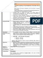 Notification Bank of Baroda Chief Economist Posts