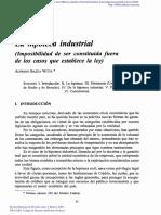 Hipoteca Industrial