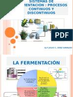 Sistemas de Fermentación