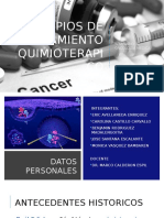 Semana 7 - Principios de Tratamiento Quimioterápico