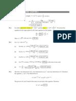 PHYF 115 Tutorial Solutions All