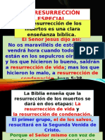 La Resurrección Especial