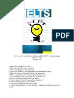 Topic Ielts Speaking